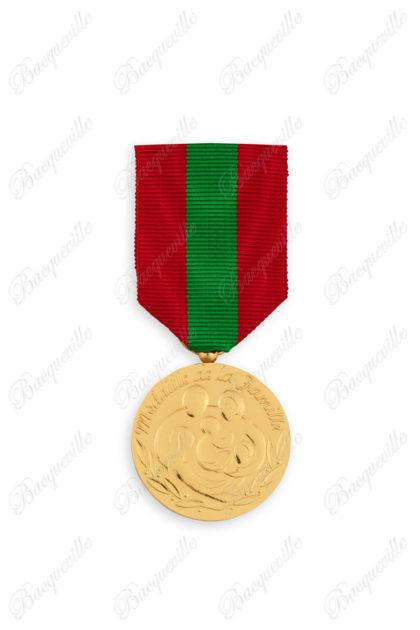 Médaille famille française bronze